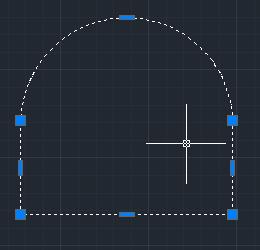 convert polyline line to arc