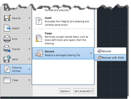 LT Unlimited: Audit and Recover Drawing Files