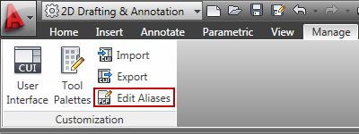 Edit Aliases