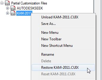 Partial CUIx files
