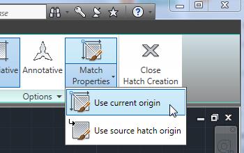 Hatch Match Properties