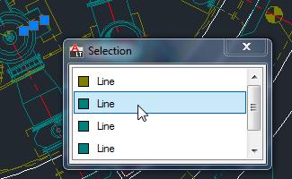 Selection List