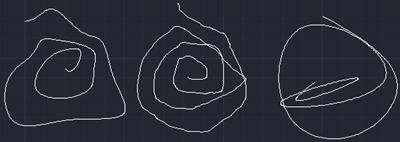 Spline sketches