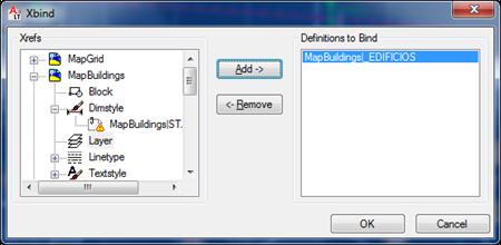 XBIND dialog